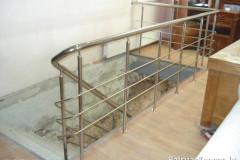 Taisnas kāpnes, margu konstrukcija